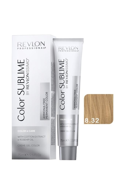 Revlon - Revlonissimo Color Sublime Color & Care 8.32 Açık Kumral Dore İrize
