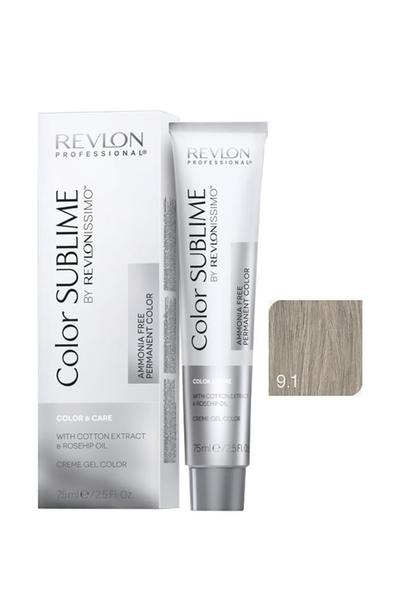 Revlon - Revlonissimo Color Sublime Color & Care 9.1 Çok Açık Kumral Küllü