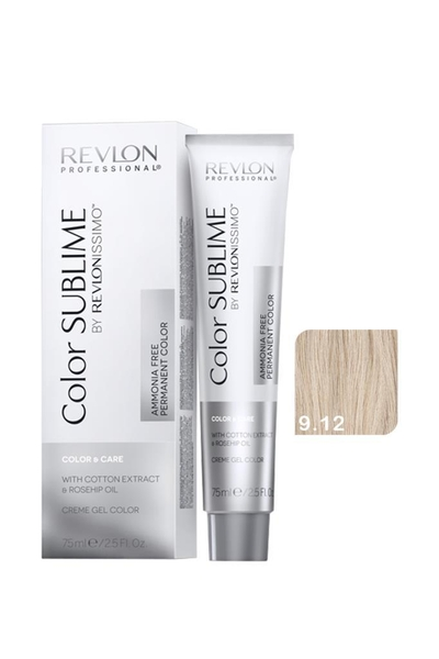 Revlon - Revlonissimo Color Sublime Color & Care 9.12 Çok Açık Kumral Küllü İrize