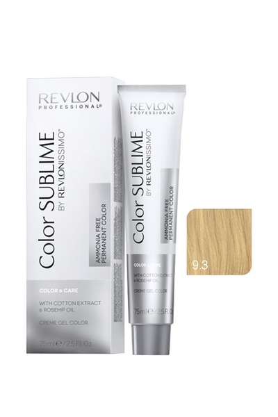 Revlon - Revlonissimo Color Sublime Color & Care 9.3 Çok Açık Kumral Dore