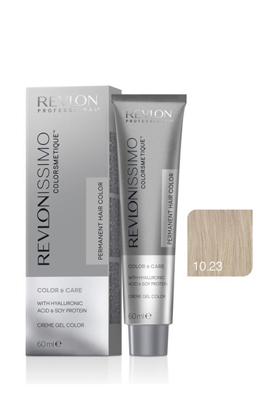 Revlon - Revlonissimo Colorsmetique Color & Care 10.23 Çok Açık Bej İnci Sarı