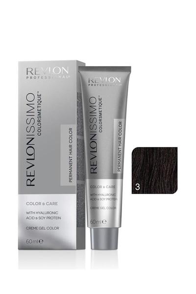 Revlon - Revlonissimo Colorsmetique Color & Care 3 Koyu Kahve