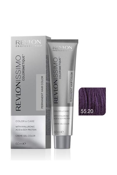 Revlon - Revlonissimo Colorsmetique Color & Care 55.20 C5 Yoğun Açık Kahve Viole