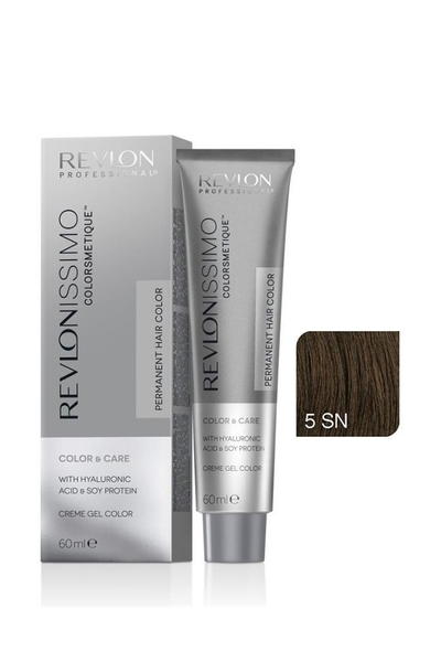 Revlon - Revlonissimo Colorsmetique Color & Care 5SN Açık Kahve
