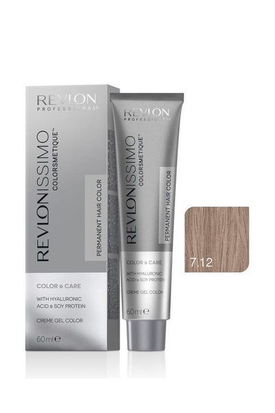 Revlon - Revlonissimo Colorsmetique Color & Care 7.12 İnci Bej Kumral