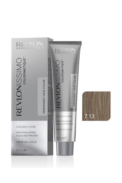 Revlon - Revlonissimo Colorsmetique Color & Care 7.13 Kumral Soğuk Bej