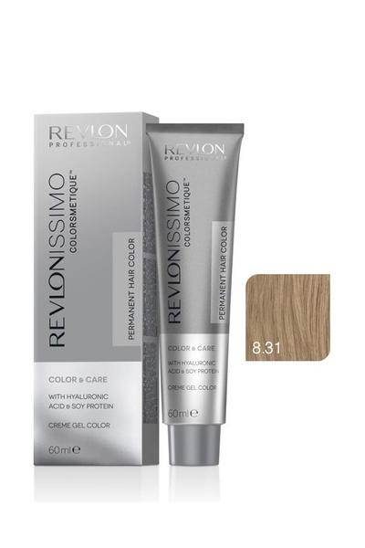 Revlon - Revlonissimo Colorsmetique Color & Care 8.31 Bej Sarı