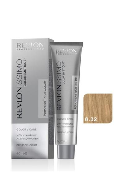 Revlon - Revlonissimo Colorsmetique Color & Care 8.32 Altın İnci Sarısı