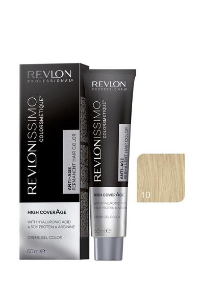 Revlon - Revlonissimo Colorsmetique High Coverage 10 Çok Açık Sarı