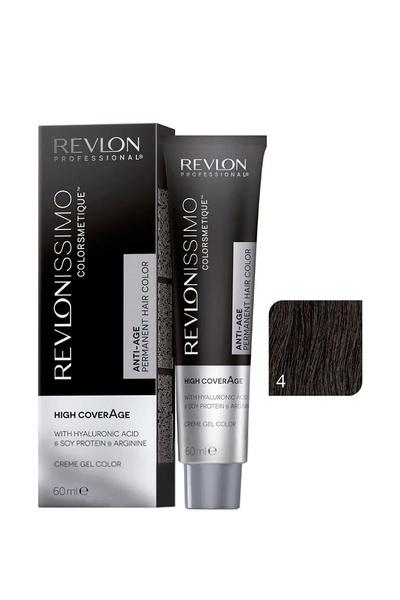Revlon - Revlonissimo Colorsmetique High Coverage 4 Orta Kahve