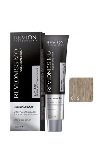 Revlon - Revlonissimo Colorsmetique High Coverage 8.12 Soğuk Sarı
