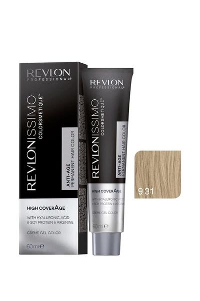 Revlon - Revlonissimo Colorsmetique High Coverage 9.31 Açık Bej Sarı