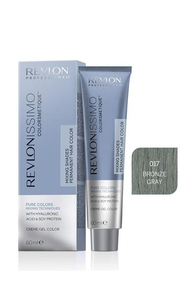Revlon - Revlonissimo Colorsmetique Pure Colors Mix 0.17 Bronz Gri