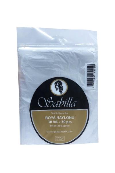 Sabilla - Sabilla Tek Kullanımlık Boya Naylonu 30 Adet