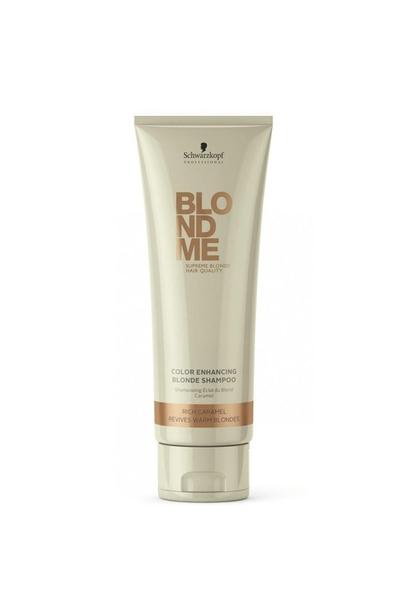 Schwarzkopf - Schwarzkopf Blonde Me Color Enhancing Sıcak Sarı Saç Şampuan 250ml