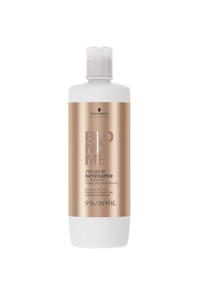 Schwarzkopf - Schwarzkopf Blondme Oksidan %9 30 Vol 1000 ml