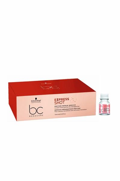 Schwarzkopf - Schwarzkopf Bonacure Acil Kurtarma Peptide Express Shot Serum 8x10 ml
