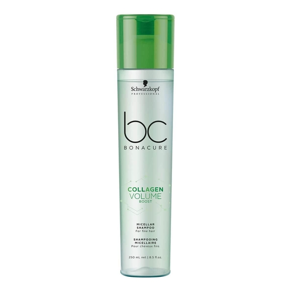 Schwarzkopf - Schwarzkopf Bonacure Collagen Doğal Hacim Saç Bakım Şampuanı 250ml