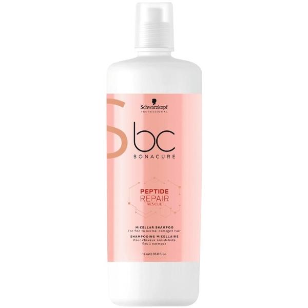 Schwarzkopf - Schwarzkopf Bonacure Peptide Acil Kurtarma Micellar Saç Şampuanı 1000ml