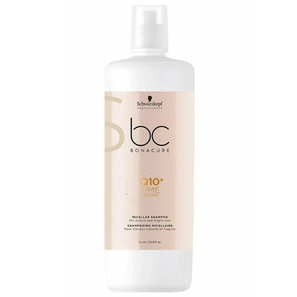 Schwarzkopf - Schwarzkopf Bonacure Q10 Time Restore Saç Şampuanı 1000ml