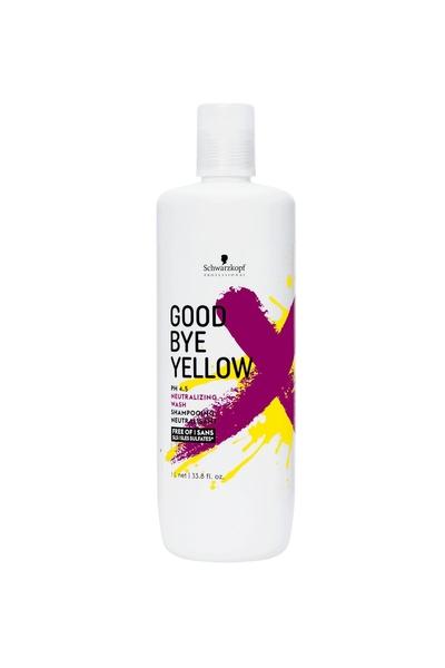 Schwarzkopf - Schwarzkopf Goodbye Yellow Sülfatsız Nötralizasyon Şampuanı 1000 ml