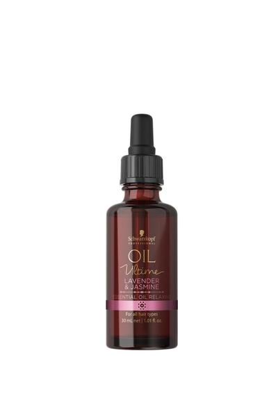 Schwarzkopf - Schwarzkopf Oil Ultime Rahatlatıcı Yağ Lavanta & Yasemin 30 ml