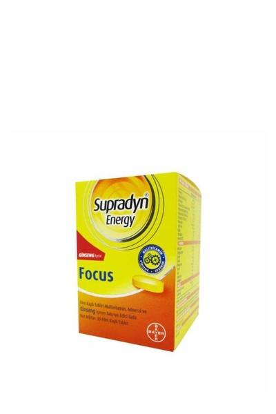 Supradyn - Supradyn Energy Focus Ginseng Takviye Edici Gıda 30 Tablet
