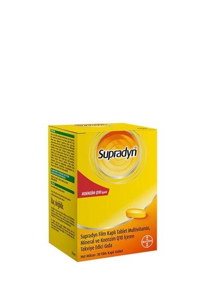 Supradyn - Supradyn Koenzim Q10 Takviye Edici Gıda 30 Tablet