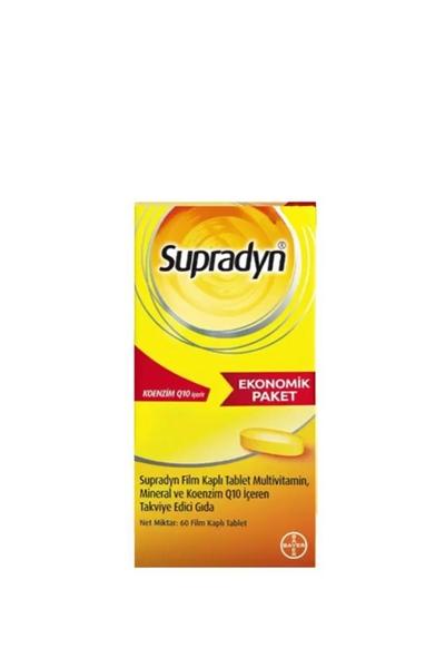 Supradyn - Supradyn Koenzim Q10 Takviye Edici Gıda 60 Tablet