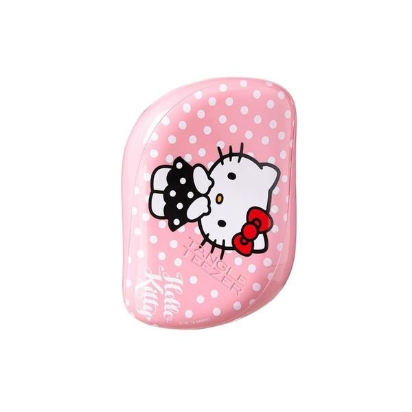 Tangle Teezer - Tangle Teezer Compact Styler Açıcı Tarak Hello Kitty Pembe