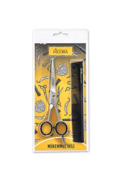 Hydra - Tarko Hydra Berber Makası + Tarak Set 900