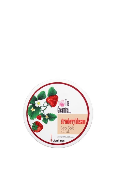 The Creaminal - The Creaminal Sea Salt Scrub Deniz Tuzu Peelingi Çilek 250 g