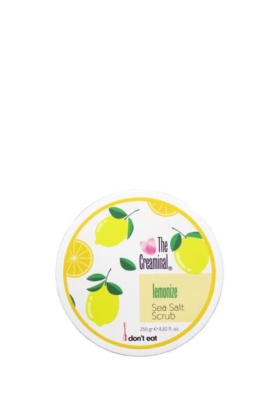 The Creaminal - The Creaminal Sea Salt Scrub Deniz Tuzu Peelingi Limon 250 g
