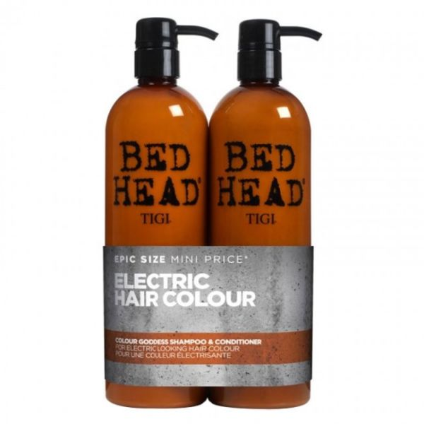 Tigi Bed Head Colour Goddess Şampuan+krem set 750ml