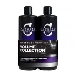 - TIGI Catwalk Volume Collection Hacim şampu krem 2x750ml set