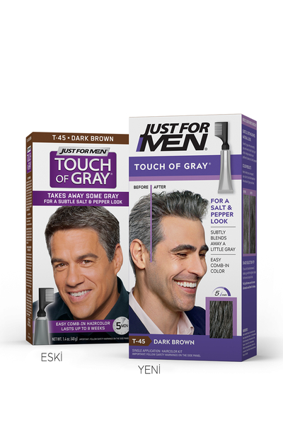 Just For Men - Touch Of Grey KOYU KAHVE