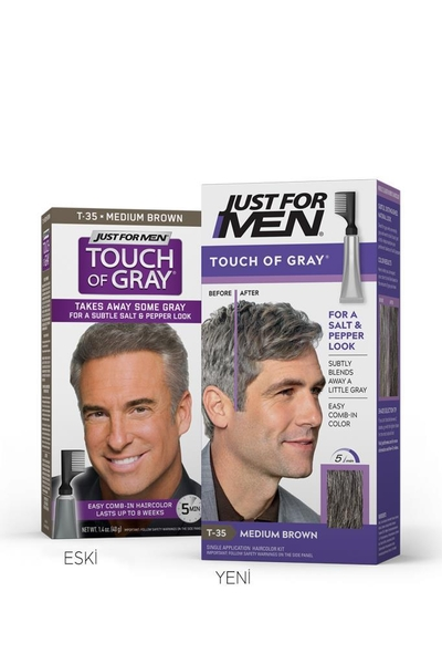 Just For Men - Touch Of Grey ORTA KAHVE