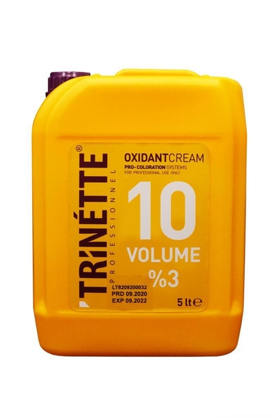 Trinette - Trinette Profesyonel Oksidan Krem %3 10 Vol 5000 ml