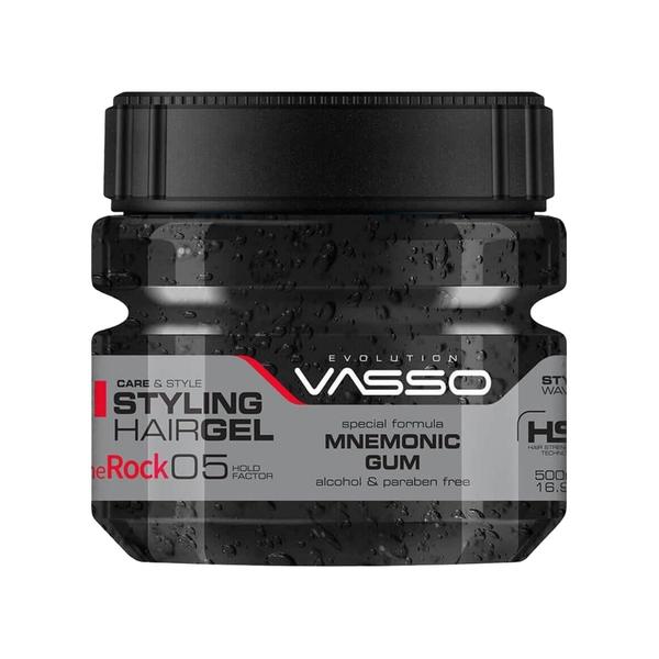 Vasso - Vasso The Rock Ultra Yüksek Tutuşlu Saç Jölesi 500 ml