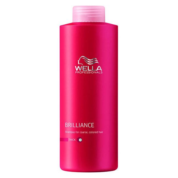 Wella - Wella Brilliance Kalın Telli Boyalı Saçlar İçin Şampuan 1000ml