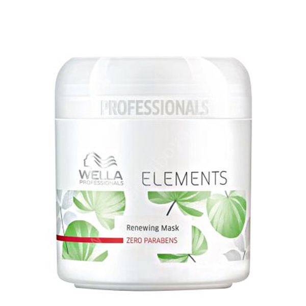 Wella - Wella Elements Renewing Parabensiz Yenileyici Maske 150ml