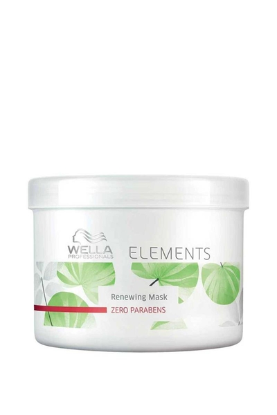 Wella - Wella Elements Renewing Parabensiz Yenileyici Maske 500ml