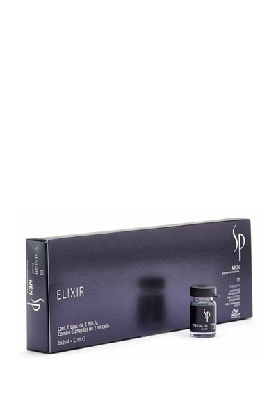 Wella - Wella Sp Men Elixir Strength Güçlendirici Serum 6X2ml