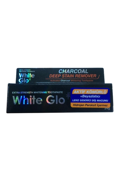 White Glo - White Glo Aktif Kömürlü Diş Macunu 16 ml