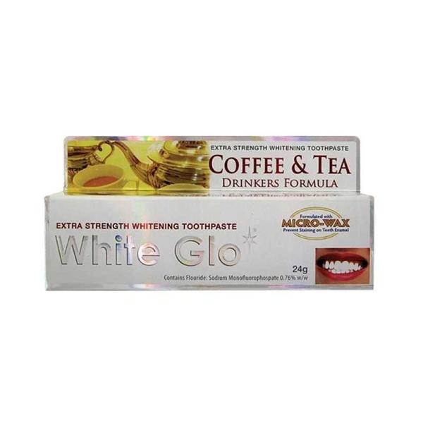 White Glo - White Glo Çay ve Kahve Lekelerine Karşı Beyazlatıcı Diş Macunu 16 ml