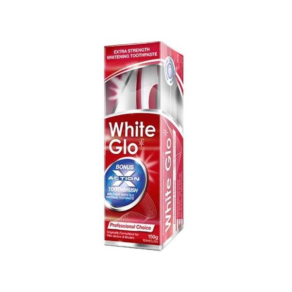 White Glo - White Glo Ekstra Beyazlatıcı Klasik Diş Macunu 100 ml