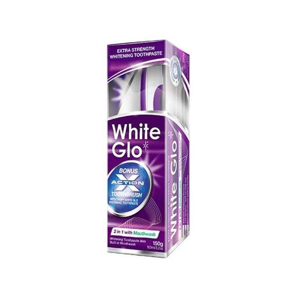 White Glo - White Glo Gargara Katkılı Beyazlatıcı Diş Macunu 100 ml